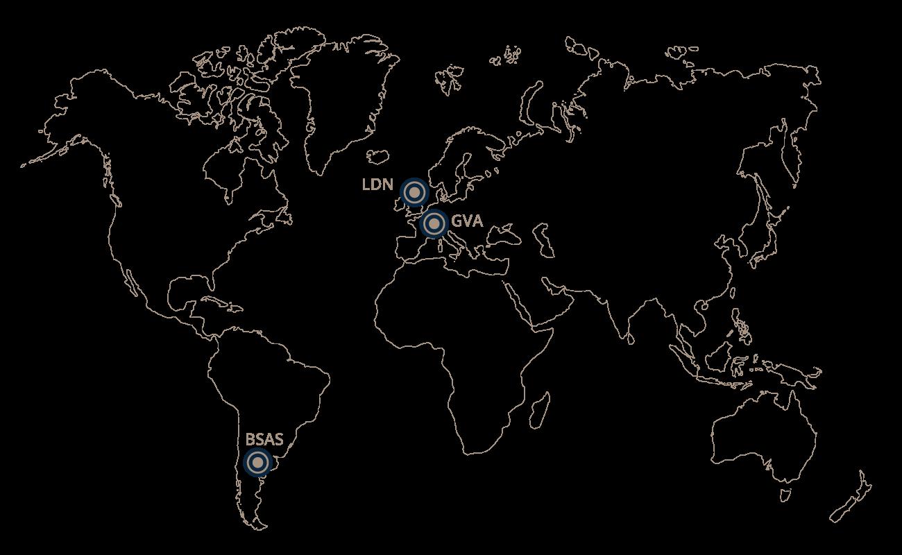 Mapa Mills